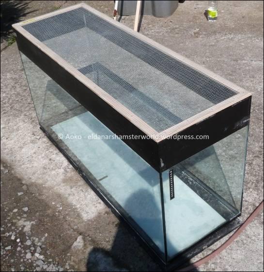 L aqua de aoko eldanar 39 s hamsterworld for Aquarium cadre